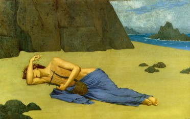 Lamentations d'Orphée - Alexandre Seon (1896)