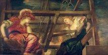 Jacopo Robusti 1480 - Athena & Arachné