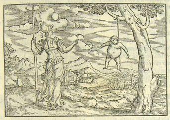 Rusconi - Arachné et Pallas - 16ème siècle