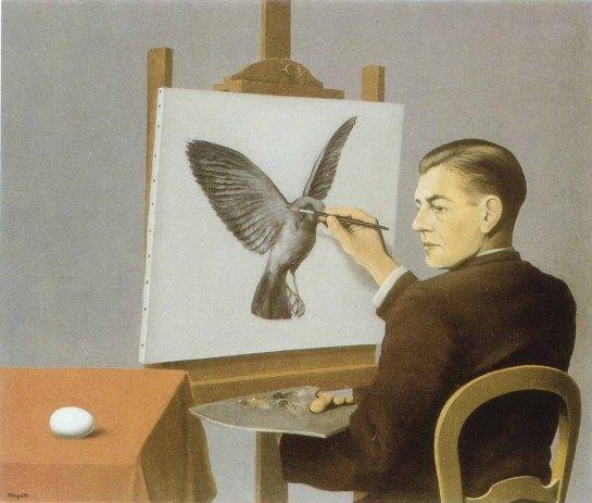 """Magritte - """"Perspicacité"""""""
