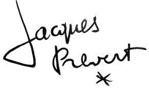 Prévert signature
