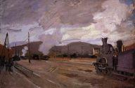 Claude Monet - Gare d'Argenteuil 1872