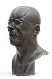 Franz Xaver Messerschmidt (1736 – 1783) - « L'Homme de mauvaise humeur »,