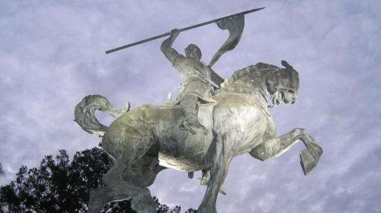El Cid Campeador - by Anna Hyatt Huntington - 1923 (San Diego CA)