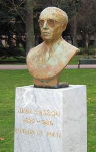 Jean Cassou-Buste Toulouse