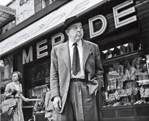 Jacques Prévert photographié par Doisneau