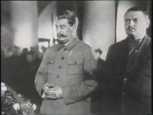 Staline et Jdanov