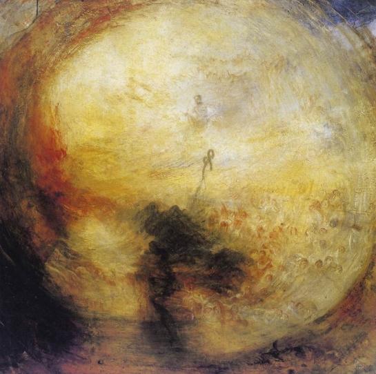 William Turner - Matin après le déluge 1843
