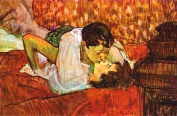Baiser - Toulouse Lautrec