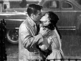 Audrey Hepburn et George Peppard - Breakfast-at-Tiffany's 1961