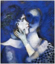 Chagall 1914 - Les Amants bleus