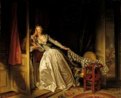 Fragonard - Baiser à la dérobée