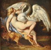 Gericault - Léda et le cygne 1818