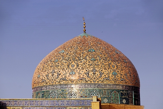 Ispahan dome mosquée