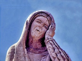 Tombeau de la pleureuse (détail) - Jerez - Mexique