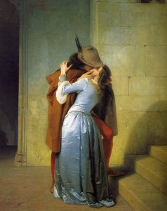 Francesco Hayez - Le baise (1859)