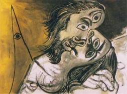 Picasso - Le-baiser I Mougins1969