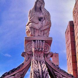 Tombeau de la pleureuse - Jerez (Mexique)