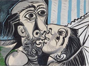 Picasso - Le baiser II 1969