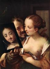 Aachen - 1596 Couple jouant