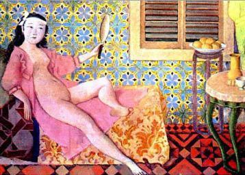 Balthus- La chambre turque 1963