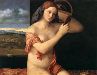 Bellini - Femme au miroir