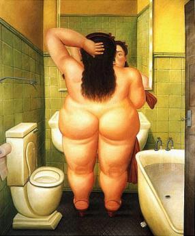 Botero 1989 - La toilette