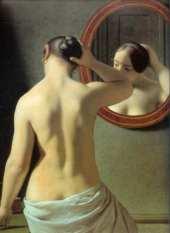 C-W Eckersberg - La femme au miroir-1841