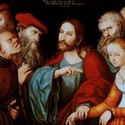 Cranach l'Ancien - Jésus et la femme adultère 1532