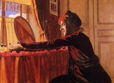 Félix Vallotton - Mme Vallotton 1899