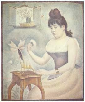 Georges Seurat - Femme se poudrant