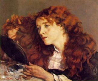 Gustave Courbet - La belle irlandaise