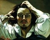 Gustave Courbet - Le désespéré - Autoportrait vers 25 ans