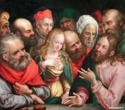 Jobst Harrich - Femme adultère 1617