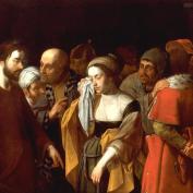 Loth Johann Karl, dit Carlotto - La femme adultère vers 1635