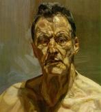 Lucian Freud - Autoportrait