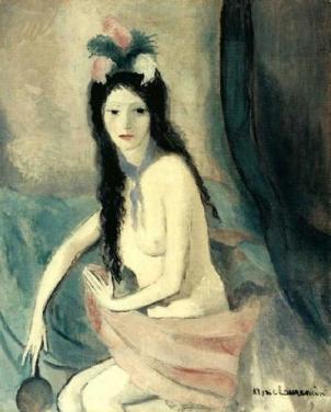 Marie Laurencin - 1916 Nu au miroir