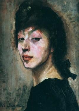 Marie Laurencin - Autoportrait 1905