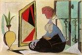 Picasso - femme au miroir 3