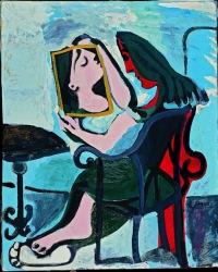 Picasso - Femme au miroir