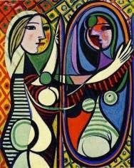 Picasso - Femme au miroir2