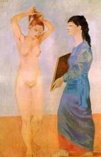 Picasso - Femme à sa toilette 1906