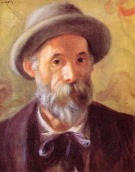 Pierre Auguste Renoir - Autoportrait