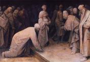 Pieter Bruegel - Le Christ et la femme adultère (1565)
