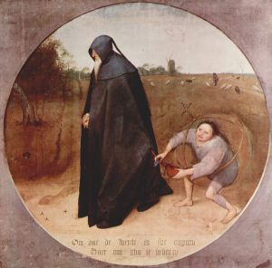 Pieter Bruegel - Misanthrope-1568