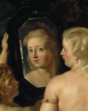Pieter Paul Rubens - Vénus au miroir 1615 - détail