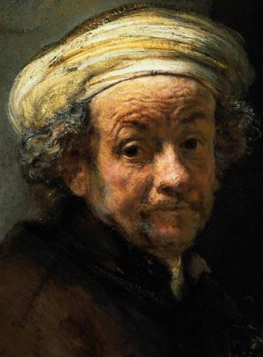 Rembrandt - Autoportrait en Paul l'apôtre 1661