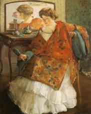 Richard Edouard Miller - La robe chinoise 1909