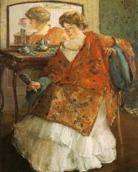 Richard Edouard Miller - La robe chinoise 1909
