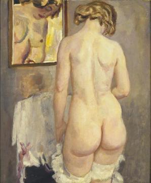 Sluyters - 1920 Nu au miroir